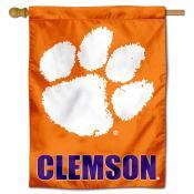 Clemson Polyester House Flag