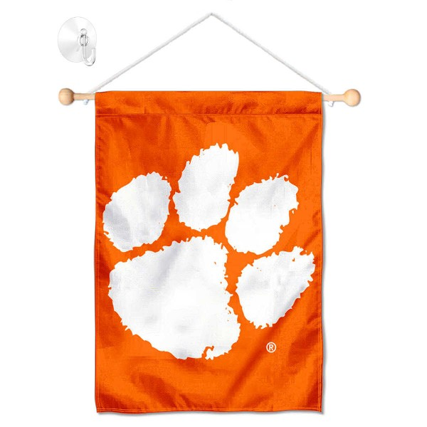 Clemson Small Wall and Window Banner