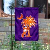 Clemson Tiger and Palmetto Garden Banner