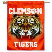 Clemson Tigers Eye House Flag