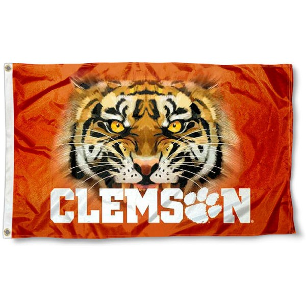 Clemson Tigers Eyes Flag