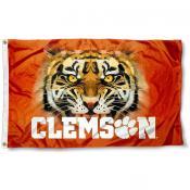 Clemson Tigers Eyes Flag