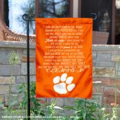 Clemson Tigers Fight Song Lyrics Garden Banner