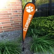 Clemson Tigers Mini Teardrop Garden Flag
