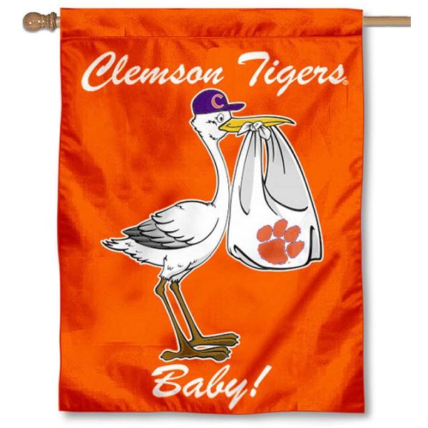 Clemson Tigers New Baby Banner