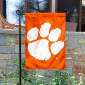Clemson Tigers Orange Garden Banner