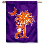 Clemson Tigers Palmetto House Flag