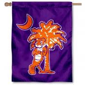Clemson Tigers Palmetto House Flag