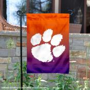 Clemson Tigers Two Tone Garden Banner