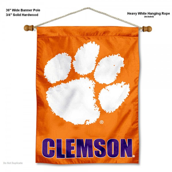 Clemson Tigers Wall Hanging