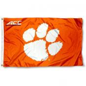 Clemson University ACC Flag