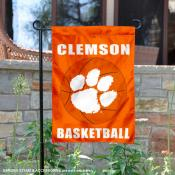 Clemson University Basketball Garden Flag