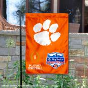 Clemson University College Football Playoff Semifinal Game Double Sided Garden Flag