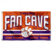 Clemson University Tigers Man Cave Dorm Room 3x5 Banner Flag