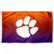 Clemson University Two Tone Color Flag