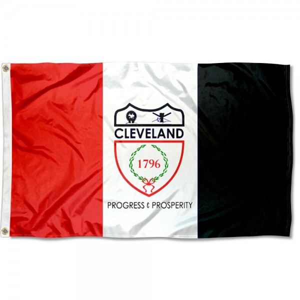 Cleveland City 3x5 Foot Flag