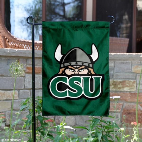 Cleveland State Vikings Garden Flag