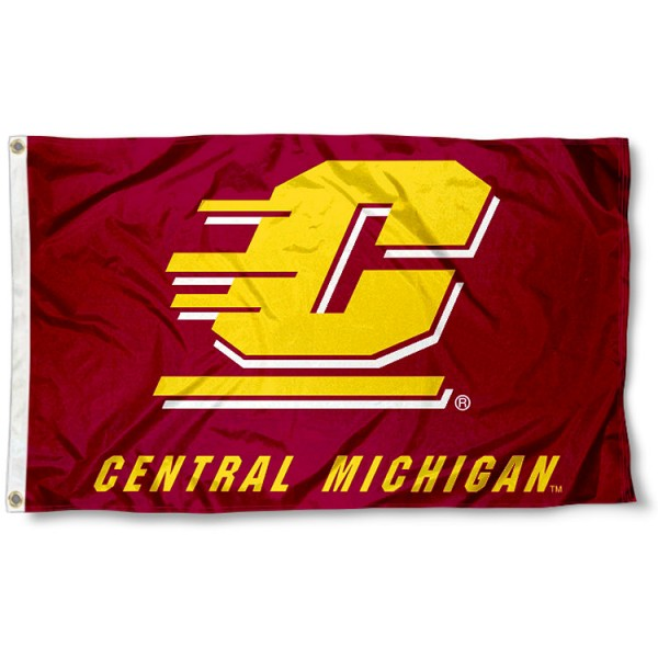 CMU Chippewas Flag