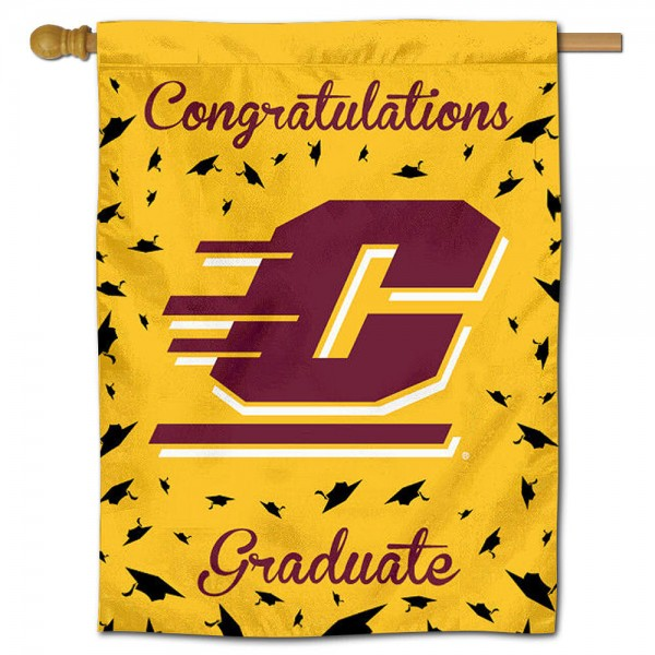 CMU Chippewas Graduation Banner