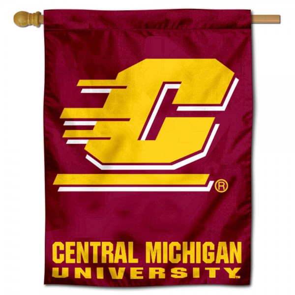 CMU Chippewas House Flag