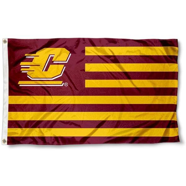 CMU Chippewas Nation Flag