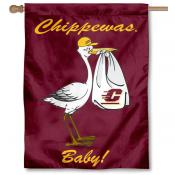 CMU Chippewas New Baby Banner