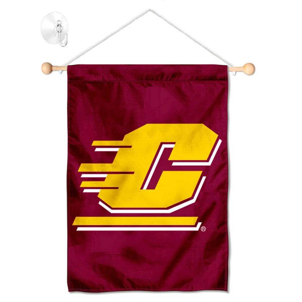 CMU Chippewas Small Wall and Window Banner