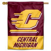 CMU Chippewas Wordmark House Flag