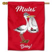 CMU Mules New Baby Banner
