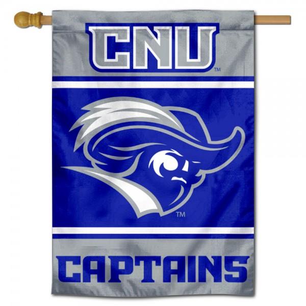 CNU Captains House Flag