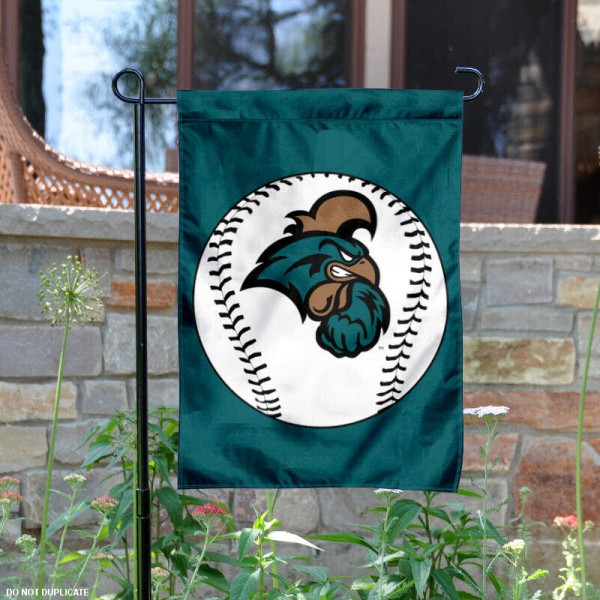 Coastal Carolina Baseball Garden Flag