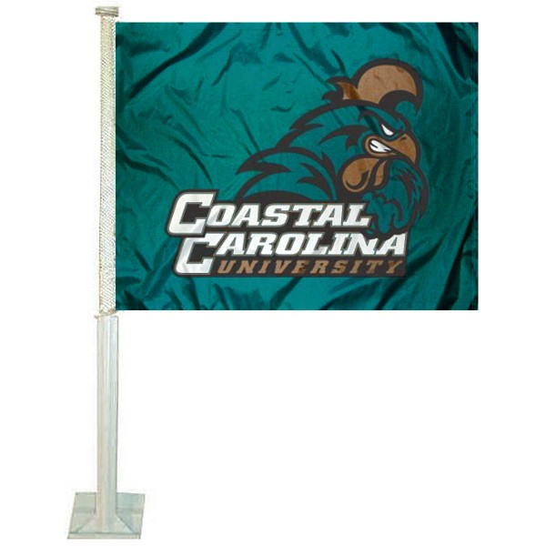 Coastal Carolina Chanticleers CCU Car Flag
