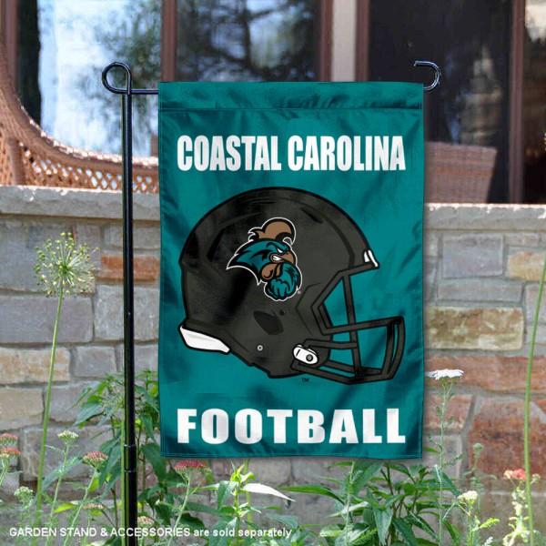 Coastal Carolina Chanticleers Football Garden Flag