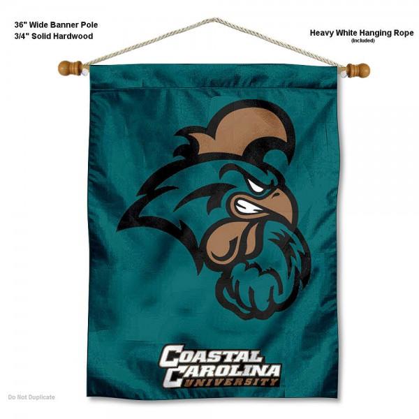 Coastal Carolina Chanticleers Wall Hanging