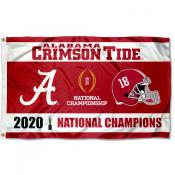 College Football National Champions University of Alabama 3x5 Foot Flag