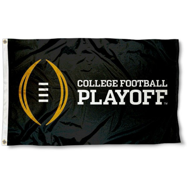 College Football Playoff Logo Flag
