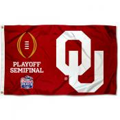 College Football Playoff Semifinal Game OU Sooners 3x5 Foot Flag
