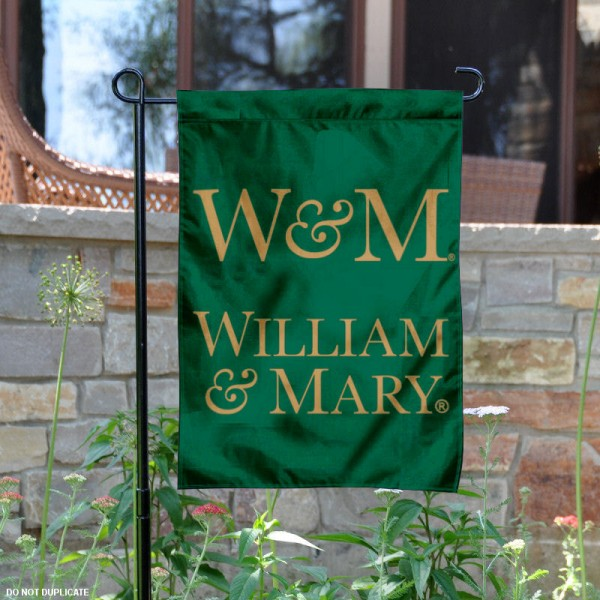 College of William and Mary Garden Flag