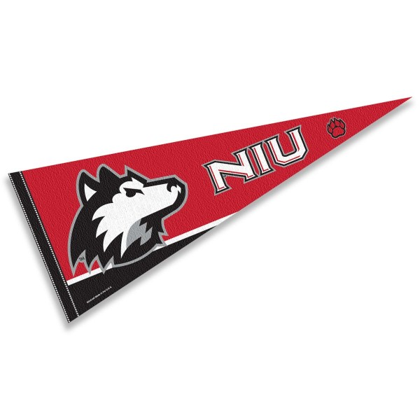 College Pennant for NIU Huskies