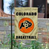 Colorado Buffaloes Basketball Garden Flag
