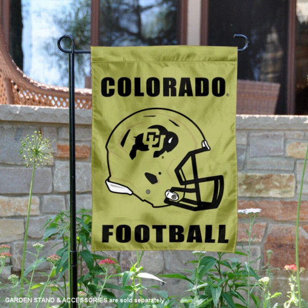 Colorado Buffaloes Football Garden Flag