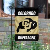 Colorado Buffaloes Garden Flag
