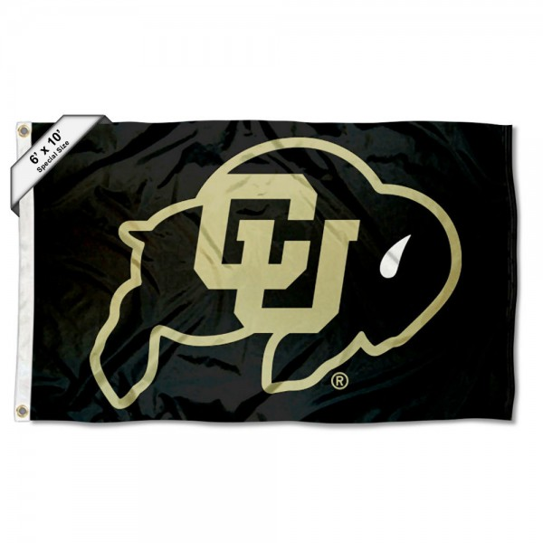 Colorado Buffaloes Logo 6x10 Large Flag