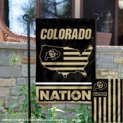 Colorado Buffaloes Nation Garden Flag