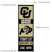 Colorado Buffaloes Wall Banner and Door Scroll