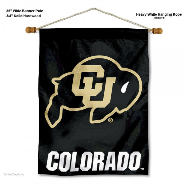 Colorado Buffaloes Wall Hanging