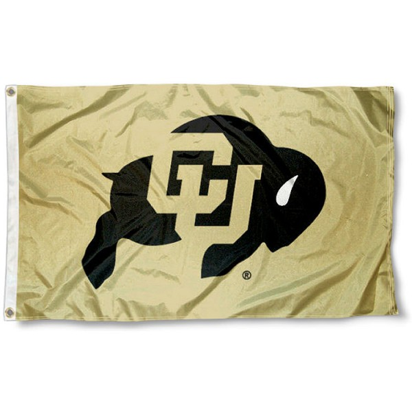 Colorado Buffs Gold Flag