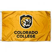 Colorado College Tigers Gold Flag
