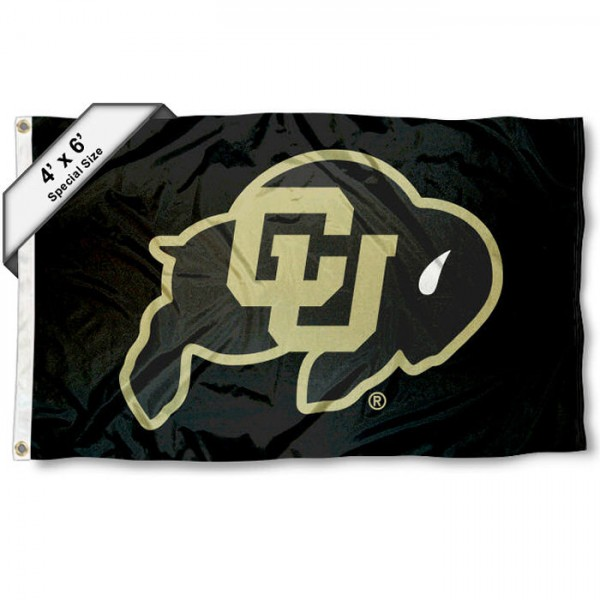 Colorado CU Buffaloes 4'x6' Flag