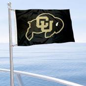 Colorado CU Buffaloes Boat Nautical Flag